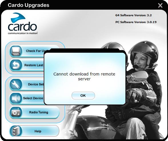 G4 server error/ ошибка сервера