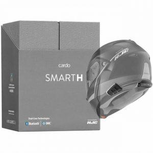 SmartH коробка и установка на шлем