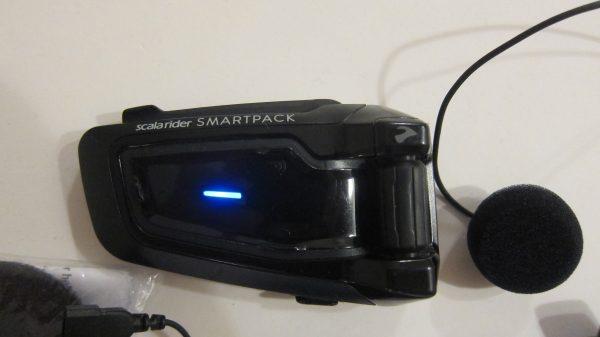smartpack module light on