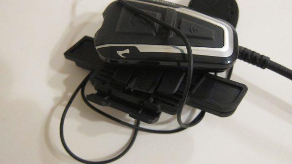 Q3 модуль, прищепка на полушлем с верху