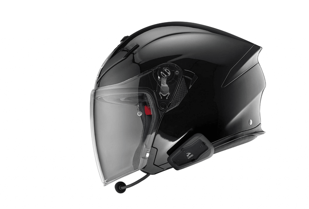 cardo scala rider freecom open face helmet installation