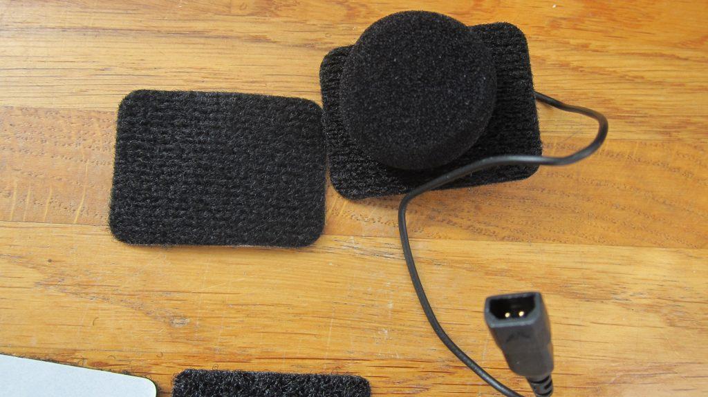 микрофон мотогарнитуры для установки в интеграл