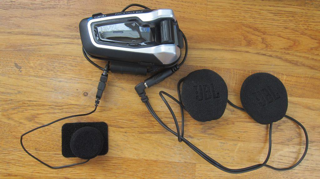 мотогарнитура в сборе для установки на шлем