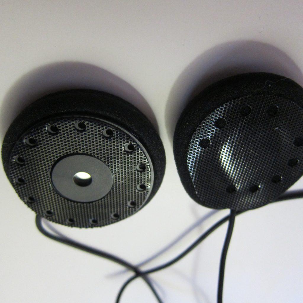 наушники в шлем JBL 45мм и Cardo-JBL 40vv